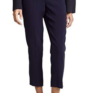 Theory Navy crop pull on pants